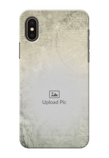 iPhone X custom mobile back covers with vintage design