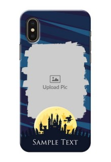 iPhone X Back Covers: Halloween Witch Design
