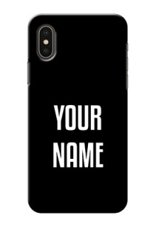 Iphone X Your Name on Phone Case