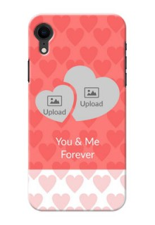Apple Iphone XR personalized phone covers: Couple Pic Upload Design