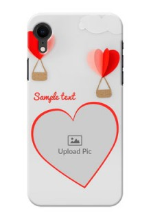 Apple Iphone XR Phone Covers: Parachute Love Design