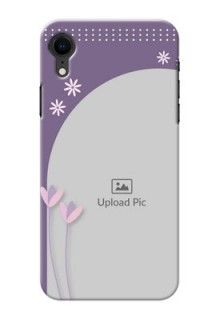 Apple Iphone XR Phone covers for girls: lavender flowers design