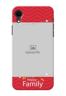 Apple Iphone XR customized phone cases: Happy Family Design