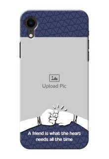 Apple Iphone XR Mobile Covers Online with Best Friends Design