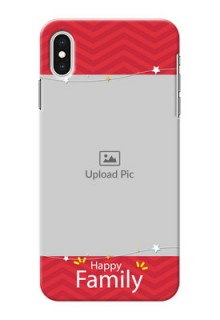 iPhone XS Max customized phone cases: Happy Family Design