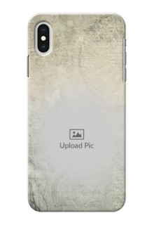iPhone XS Max custom mobile back covers with vintage design