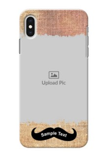 iPhone XS Max Mobile Back Covers Online with Texture Design