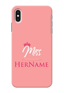 Iphone Xs Max Custom Phone Case Mrs with Name