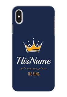 Iphone Xs Max King Phone Case with Name