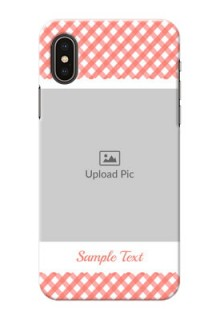 iPhone XS custom mobile cases: Pink Pattern Design