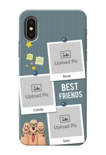 iPhone XS Mobile Cases: Sticky Frames and Friendship Design