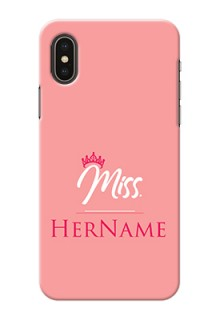 Iphone Xs Custom Phone Case Mrs with Name