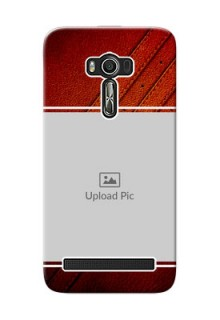 Asus ZenFone 2 Laser Back Covers: Leather Phone Case Design