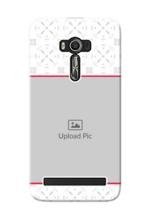 Asus ZenFone 2 Laser Phone Cases with Photo and Ethnic Design