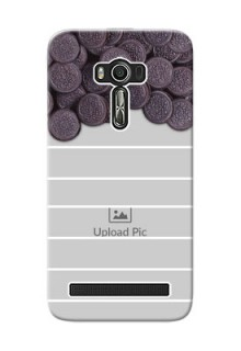 Asus ZenFone 2 Laser Custom Mobile Covers with Oreo Biscuit Design