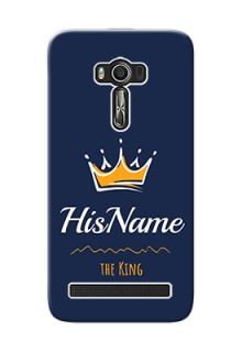 Zenfone 2 Laser Ze550Kl King Phone Case with Name