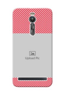Asus ZenFone 2 ZE551ML White Dots Mobile Case  Design