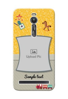 Asus ZenFone 2 ZE551ML Baby Picture Upload Mobile Cover Design