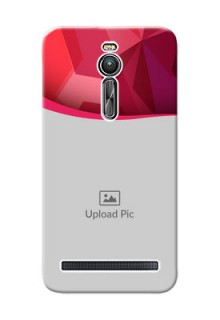 Asus ZenFone 2 ZE551ML Red Abstract Mobile Case Design