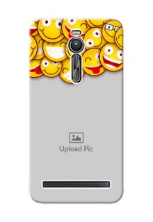 Asus ZenFone 2 ZE551ML smileys pattern Design Design