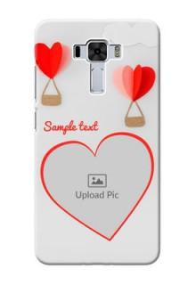 Asus Zenfone 3 Laser Phone Covers: Parachute Love Design