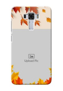 Asus Zenfone 3 Laser Mobile Phone Cases: Autumn Maple Leaves Design
