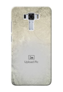 Asus Zenfone 3 Laser custom mobile back covers with vintage design