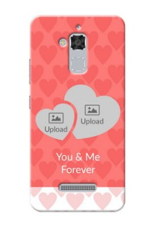 Asus Zenfone 3 Max ZC520TL Couples Picture Upload Mobile Cover Design