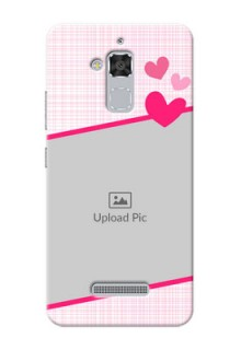 Asus Zenfone 3 Max ZC520TL Pink Design With Pattern Mobile Cover Design