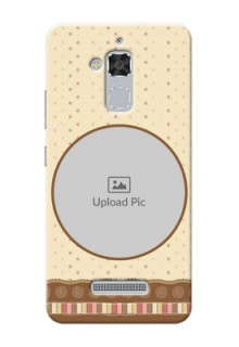 Asus Zenfone 3 Max ZC520TL Brown Abstract Mobile Case Design