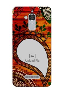 Asus Zenfone 3 Max ZC520TL Colourful Abstract Mobile Cover Design