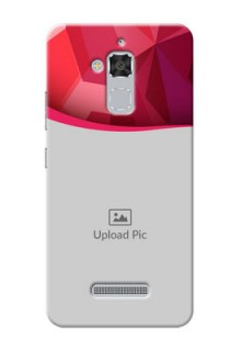 Asus Zenfone 3 Max ZC520TL Red Abstract Mobile Case Design