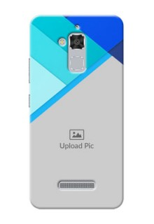 Asus Zenfone 3 Max ZC520TL Blue Abstract Mobile Cover Design