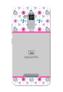 Asus Zenfone 3 Max ZC520TL Colourful Flowers Mobile Cover Design