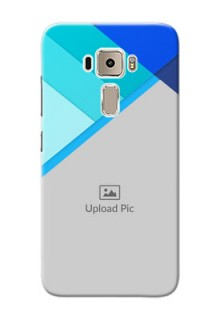 Asus Zenfone 3 ZE520KL Blue Abstract Mobile Cover Design