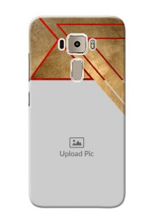 Asus Zenfone 3 ZE520KL gradient abstract texture with stylish pattern Design