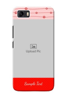 Asus Zenfone 3s Max Custom Phone Cases: Red Pattern Case Design