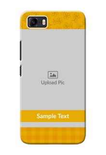 Asus Zenfone 3s Max mobile phone covers: Yellow Floral Design