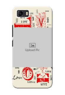 Asus Zenfone 3s Max mobile cases online: Trendy Love Design Case