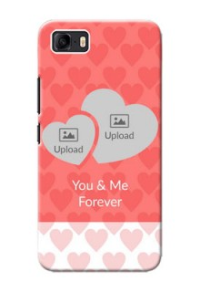Asus Zenfone 3s Max personalized phone covers: Couple Pic Upload Design