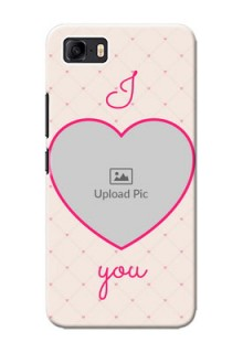 Asus Zenfone 3s Max Personalized Mobile Covers: Heart Shape Design