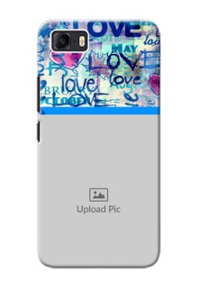 Asus Zenfone 3s Max Mobile Covers Online: Colorful Love Design