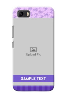 Asus Zenfone 3s Max Mobile Cases: Purple Floral Design