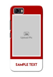 Asus Zenfone 3s Max mobile phone covers: Simple Red Color Design