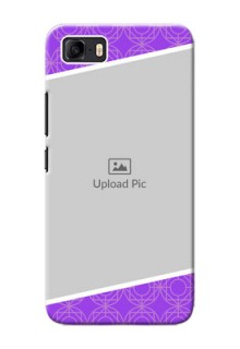 Asus Zenfone 3s Max mobile back covers online: violet Pattern Design