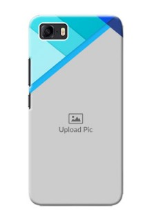 Asus Zenfone 3s Max Phone Cases Online: Blue Abstract Cover Design