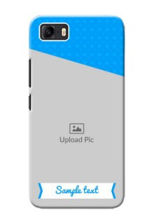 Asus Zenfone 3s Max Personalized Mobile Covers: Simple Blue Color Design