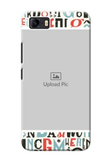 Asus Zenfone 3s Max custom mobile phone covers: Alphabet Design
