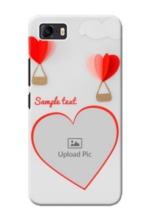 Asus Zenfone 3s Max Phone Covers: Parachute Love Design