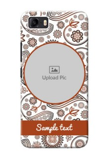 Asus Zenfone 3s Max phone cases online: Abstract Floral Design
